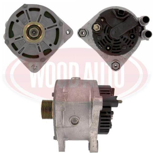 Alternator Renault 155A, Water-cooled